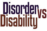 disability disorder