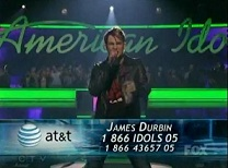 James Durbin Voting